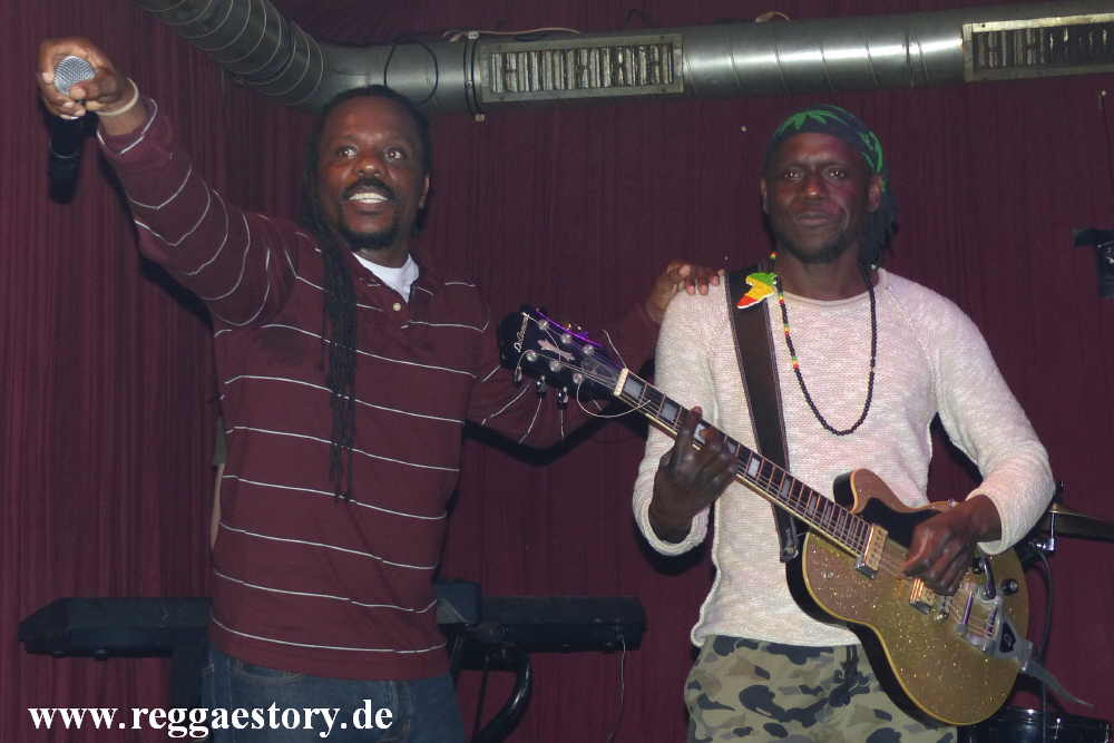 Jah Hero & Chuck Fenda