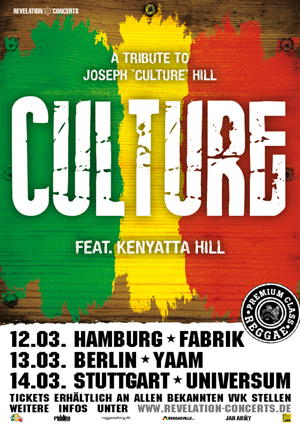Culture Tour Poster - Germany 2013