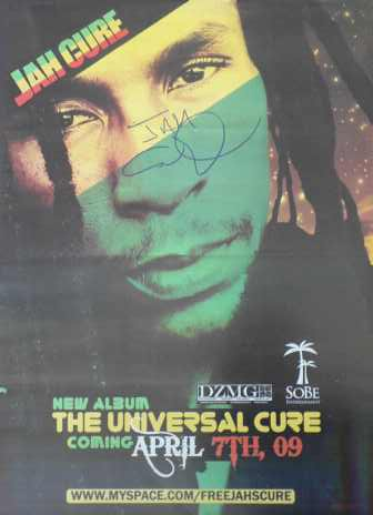 Jah Cure - Poster