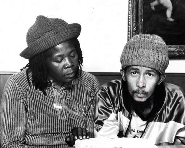 Bob Marley kurz vor seinem Tod