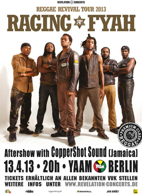 Raging Fyah Flyer