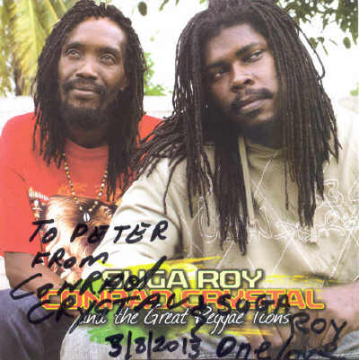Suga Roy & Conrad Crystal - Great Reggae Icons
