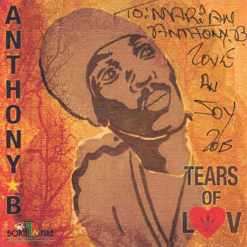 Anthony B - Tears Of Luv - Album 2015