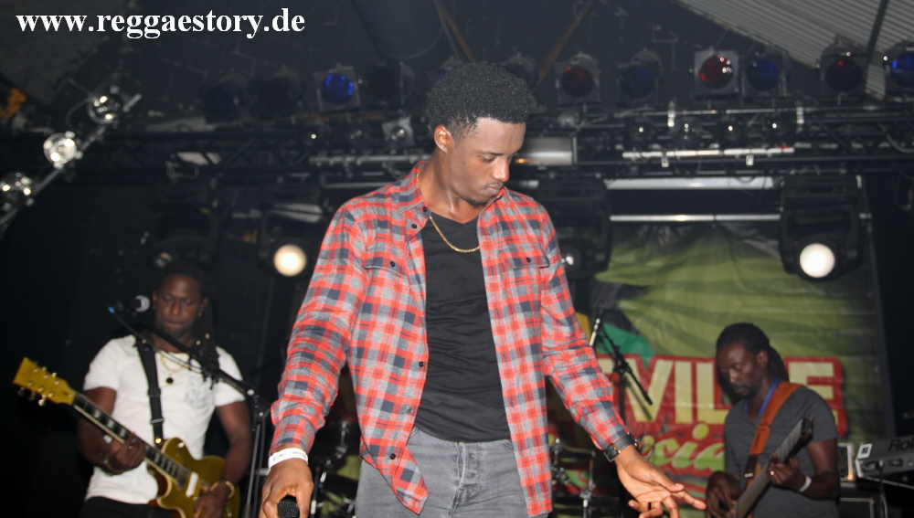 Romain Virgo & The Unit Band - Festsaal Kreuzberg