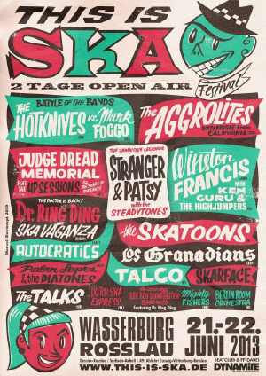 This Is Ska 2013 - Poster