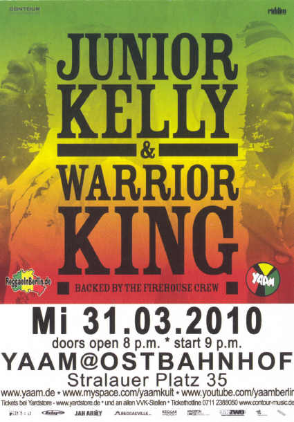 Warrior King & Junior Kelly