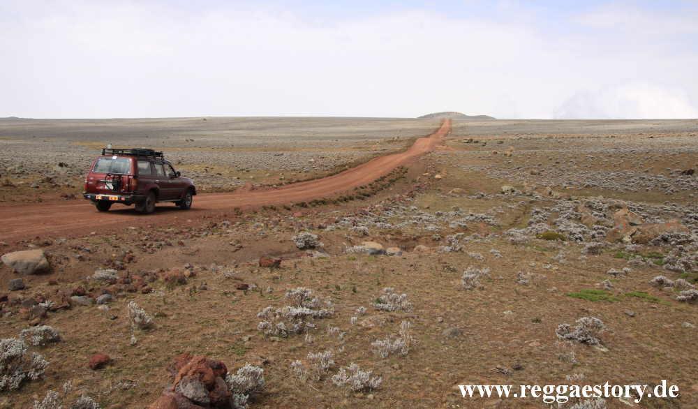 Ethiopia - Bale Mountains - Sanetti Plateau