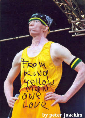 Reggaestory - Words: Yellowman